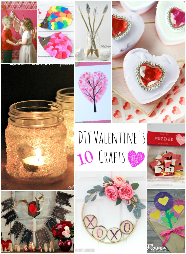 Prep fpr Valentine's day with these fun diy valentine's day crafts.