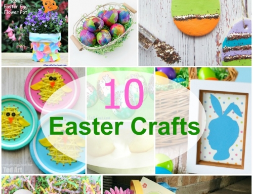 10 Easter Crafts to do With Your Kids