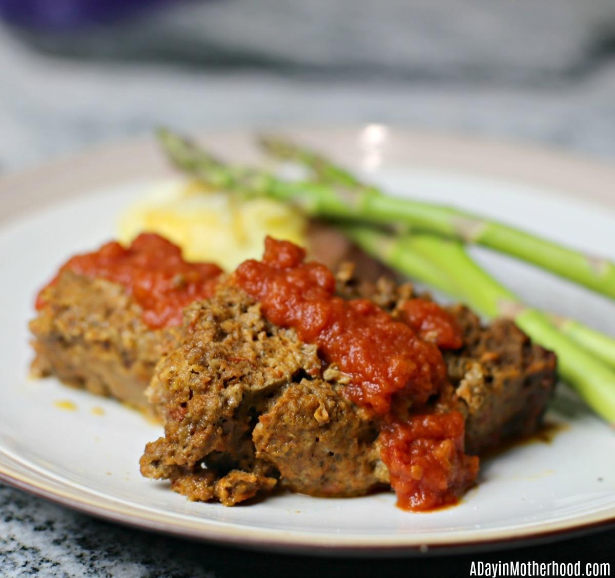 4 Ingredient Slow Cooker Italian Meatloaf Recipe