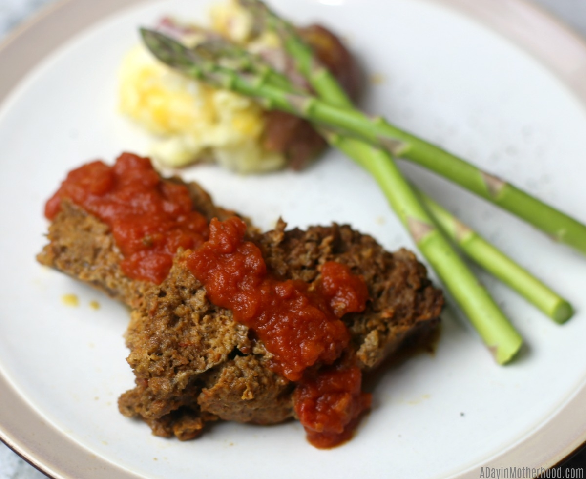 4 Ingredient Slow Cooker Italian Meatloaf Recipe and enjoy