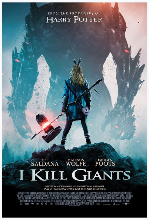 I Kill Giants Movie Giveaway movie poster