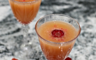 Raspberry Mimosa Mocktail Recipe