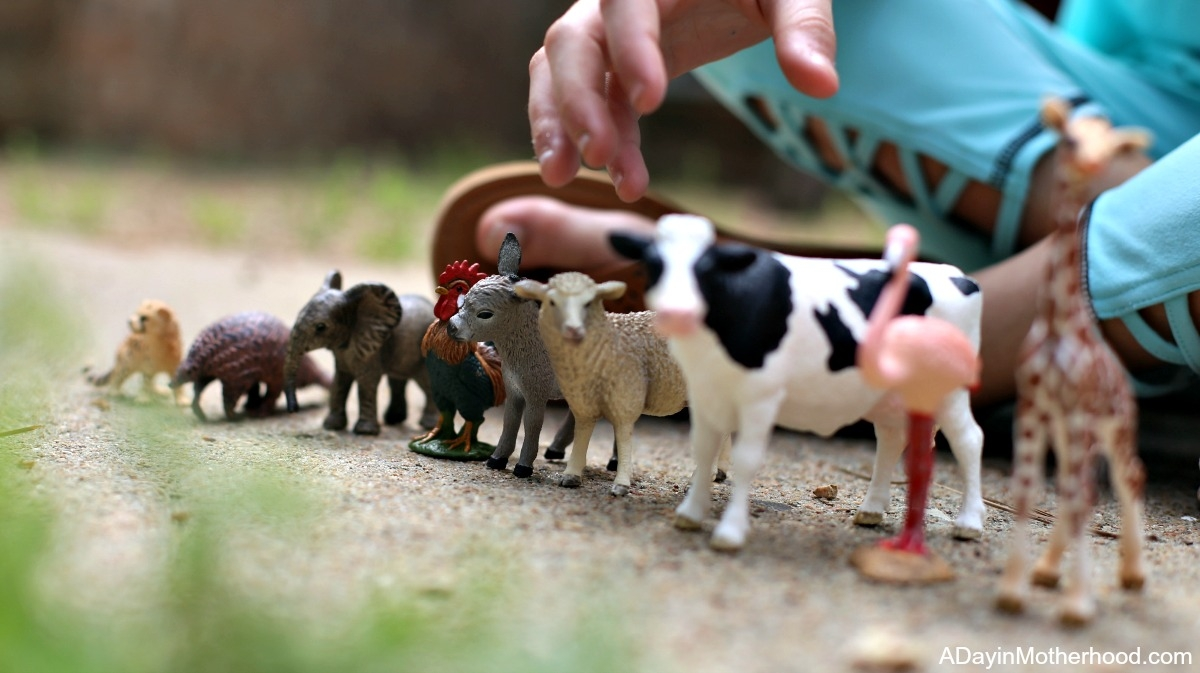 Let Their Imagination Soar with Wild Animals from Schleich Figurines like these