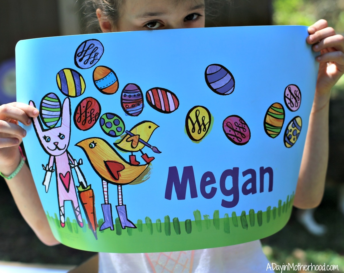 Personalize Easter with I See Me! place mat