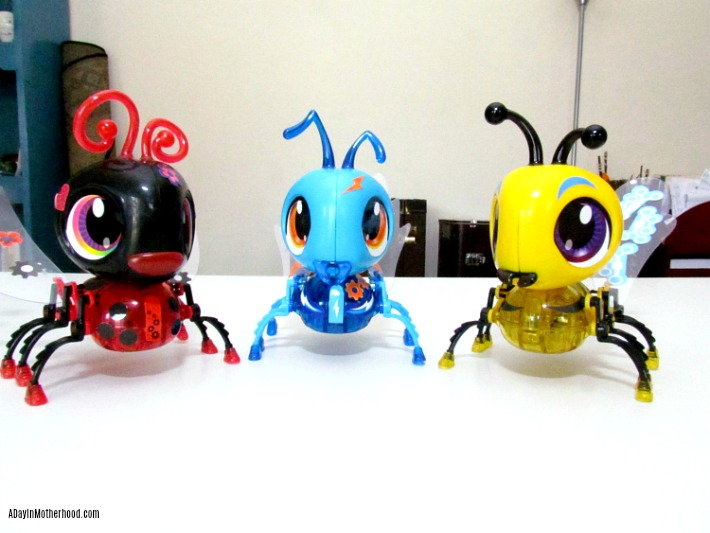 Build-a-bot bugs from Colorific are fun STEAM toys. ad