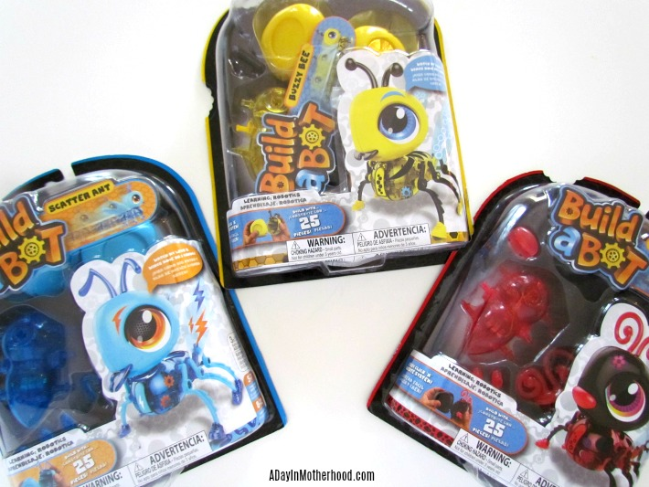Build-a-bot bugs are STEAM fun. ad