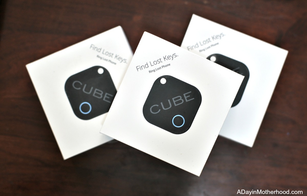 Find your phone and those Important Things in a Jiffy with Cube Tracker