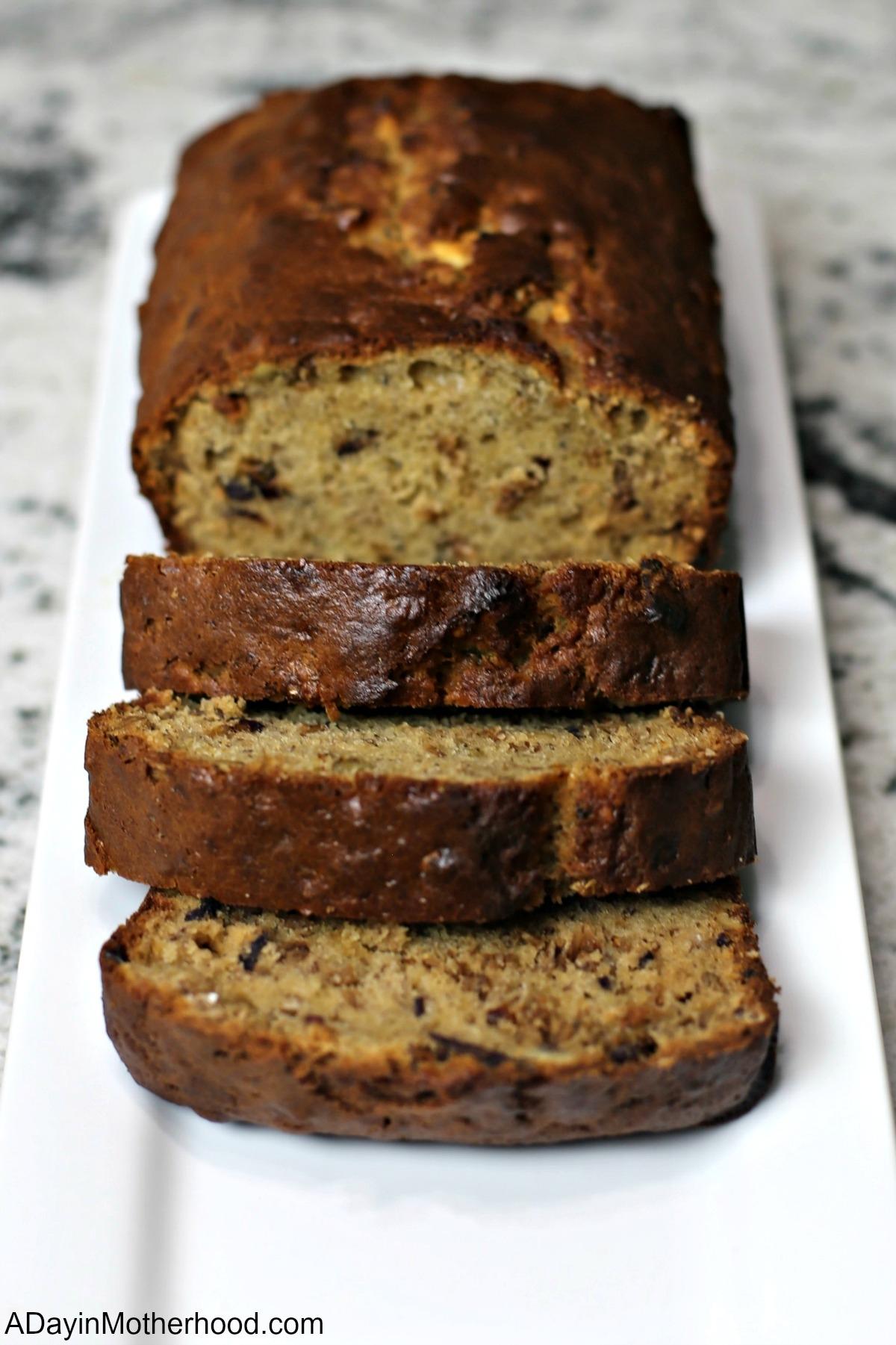 Granola Banana Bread Recipe and eat it up