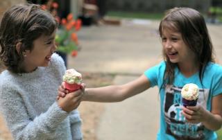 How to Make No Churn Orange Ice Cream with a Mike & Ike Sour Twist