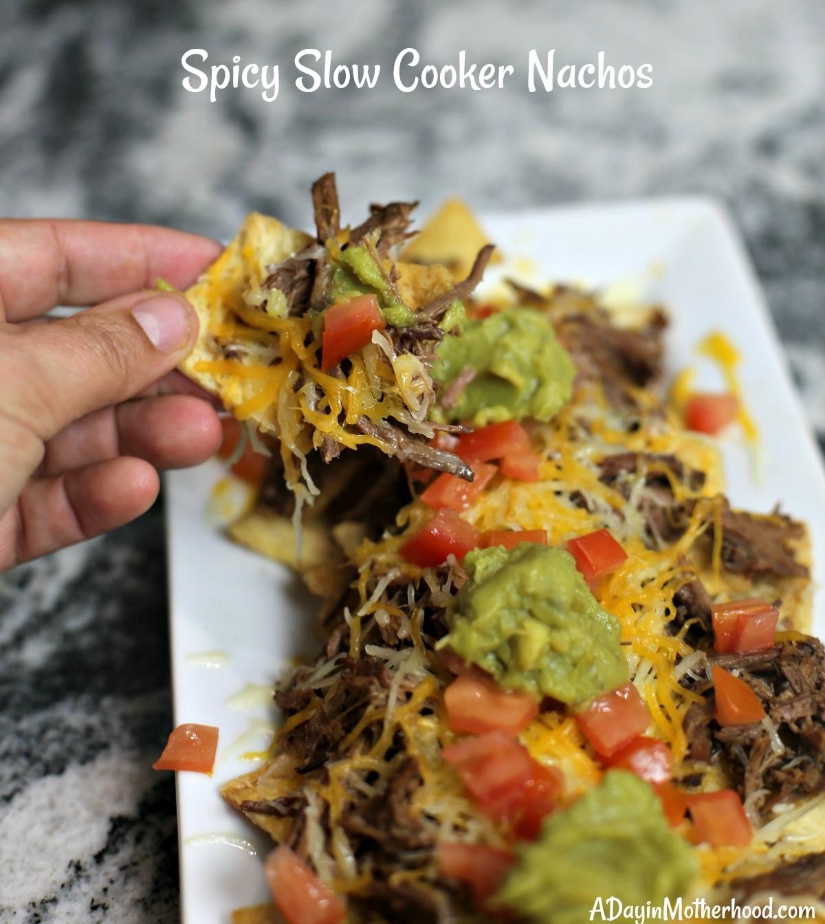Easy Spicy Slow Cooker Nachos Recipe