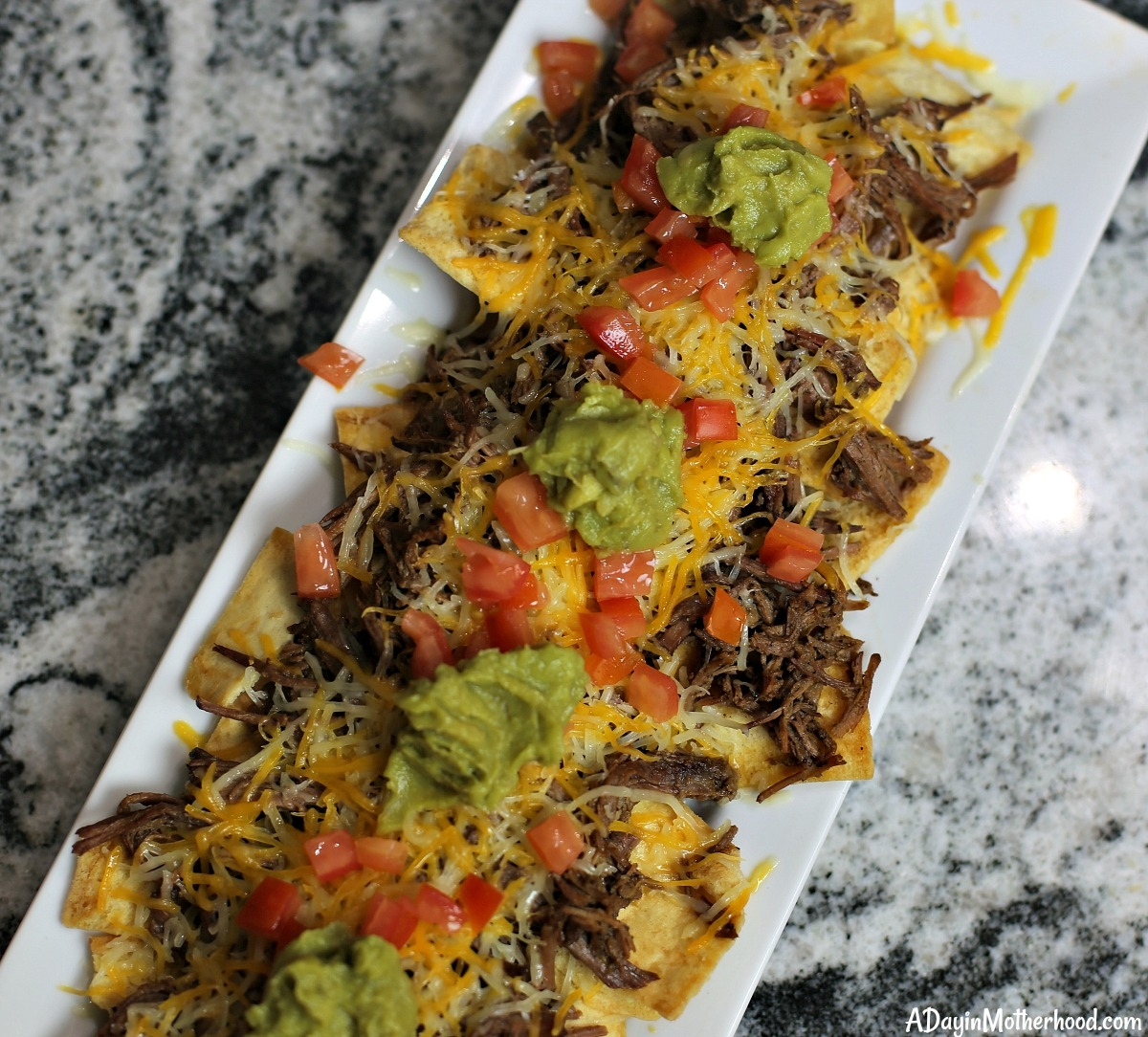 Easy Spicy Slow Cooker Nachos Recipe and love them