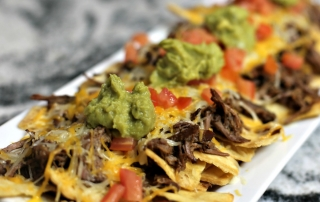 Easy Spicy Slow Cooker Nachos Recipe ready to eat