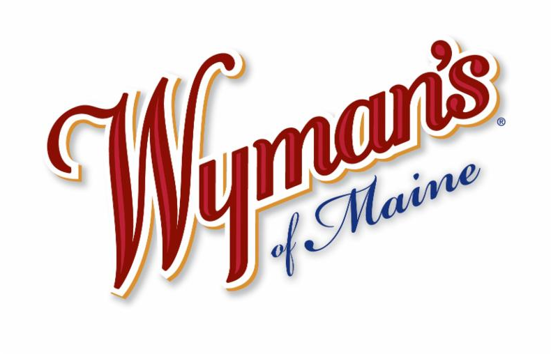 Slow Cooker Berry Cobbler Recipe and Wyman's logo