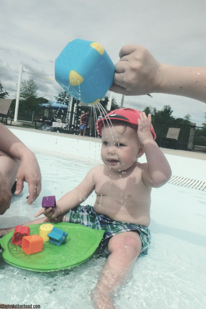 Family day at the pool is made easy with Edushape. ad