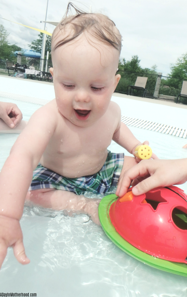 Edushape's Ladybug Sorter is educational fun for the pool. ad
