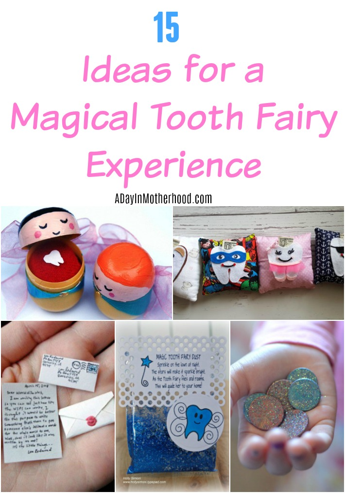 Ideas for a magical Tooth Fairy experience