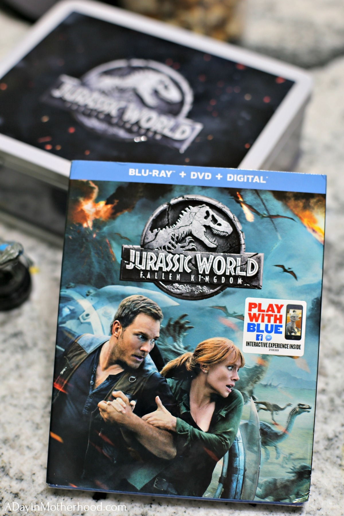 JURASSIC WORLD: FALLEN KINGDOM Easy Movie Night Ideas with blu-ray