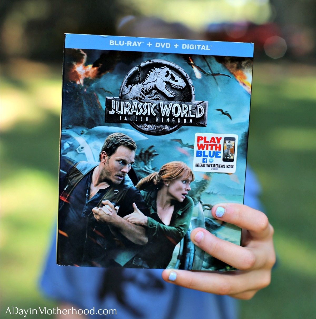 JURASSIC WORLD: FALLEN KINGDOM Easy Movie Night Ideas with the dvd