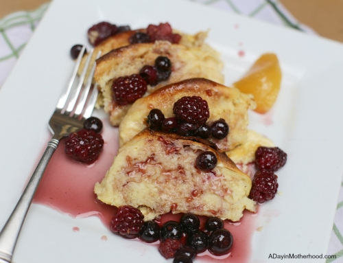 Easy Lemon Berry French Toast Casserole