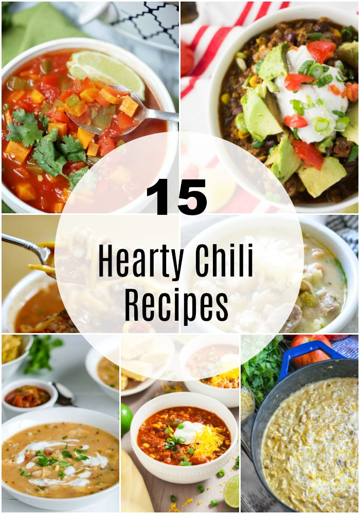 15 Hearty chili recipes for fall