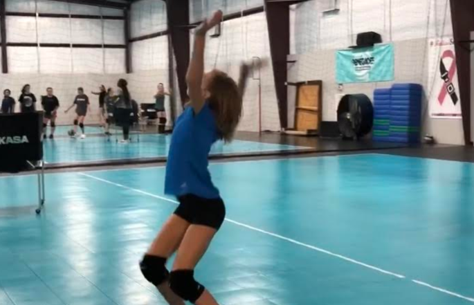 I Refusing to be a Sideline Mom in this Game of Life because: VOLLEYBALL