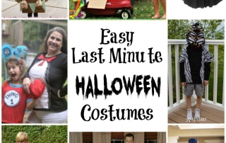 Grab one of these last minute costumes for Halloween