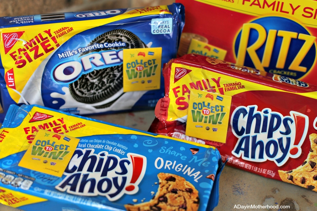 Play Collect to WIN AND Enter the Sweepstakes too: From OREO, RITZ and Chips Ahoy! at walmart