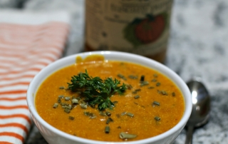 Super Easy Pumpkin Soup Recipe