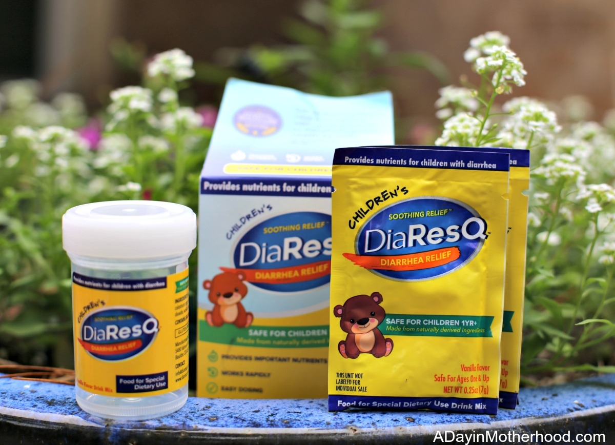 Diarrhea in Children: The Frustration and a Viable Option take DiaResQ