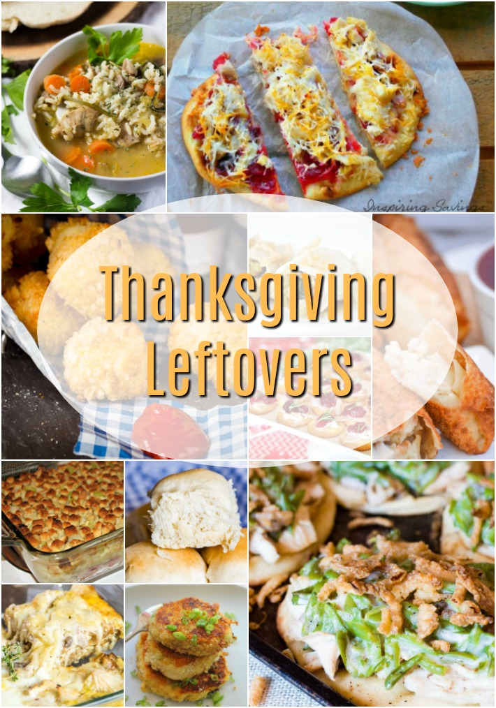 What do you do with Thanksgiving Leftovers? Make these delicious meals.