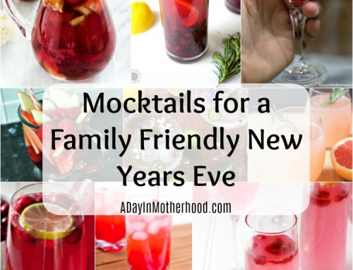 10 Mocktails to Enjoy as a Family on New Years Eve