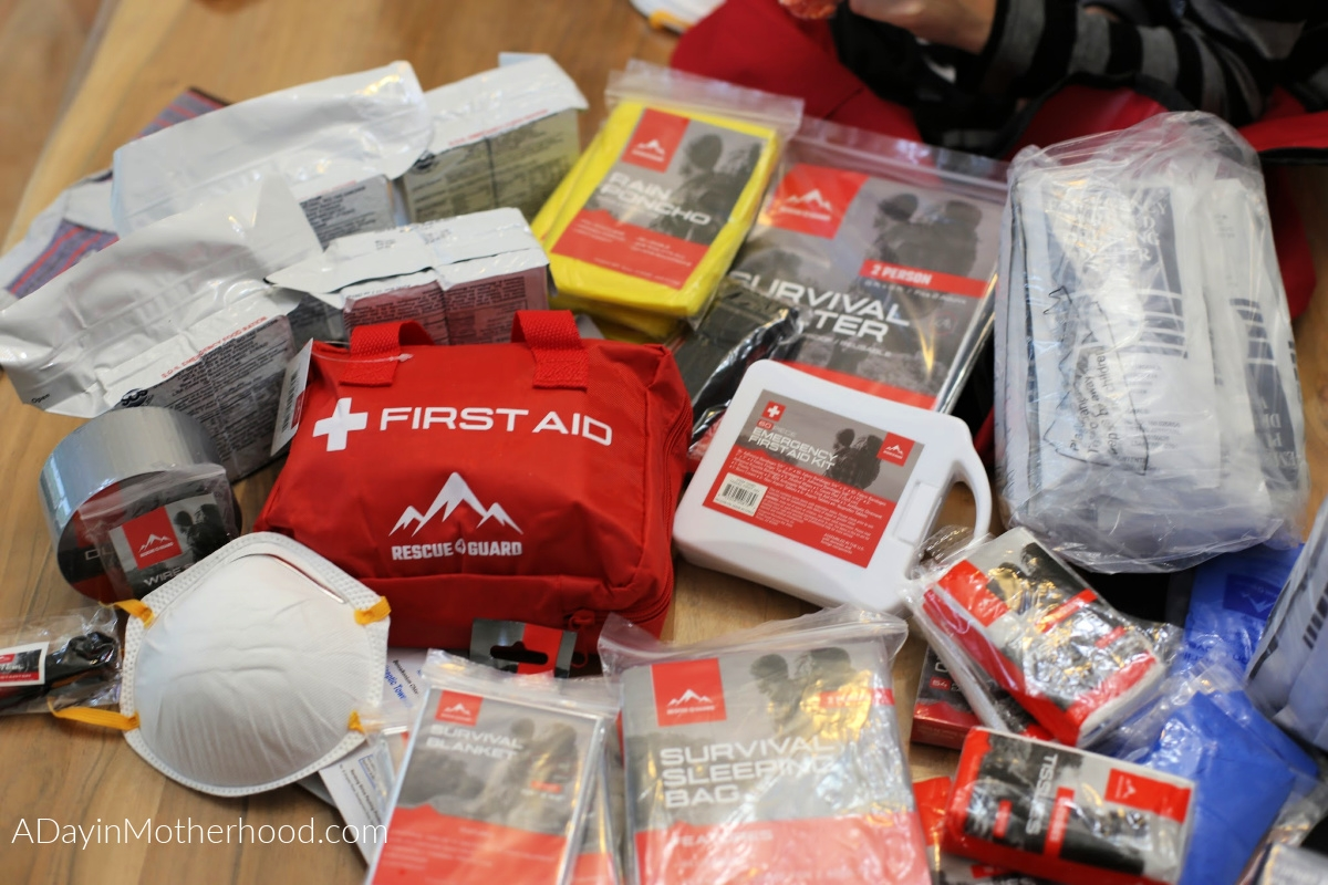 Be Prepared for Anything with a Necessary Rescue Guard Kit with everything in it
