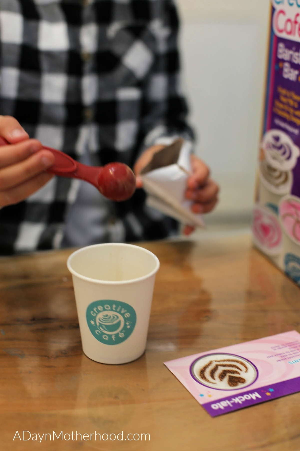 Let Kids Get Creative with the Creative Café Barista Bar and let them go