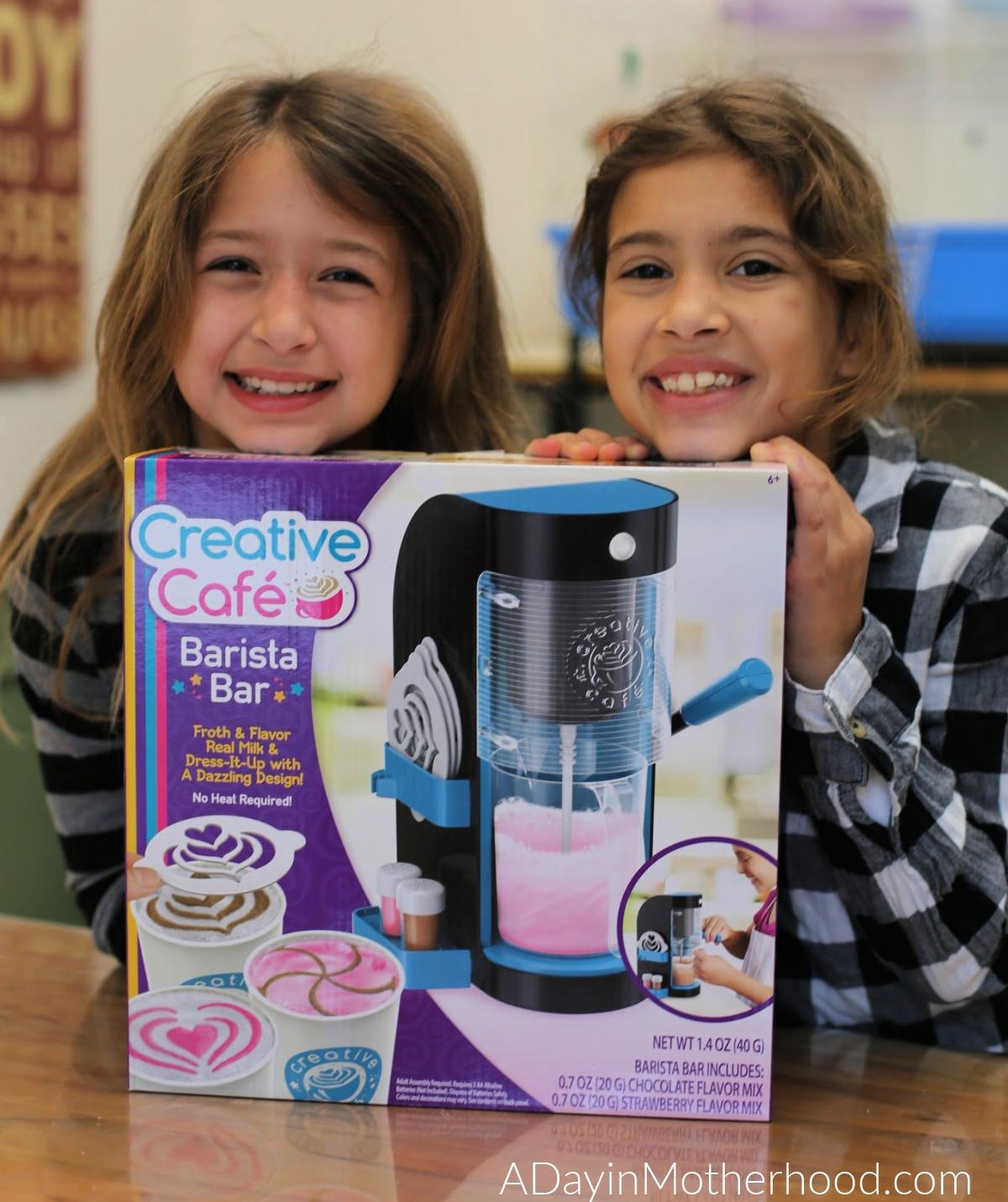 Let Kids Get Creative with the Creative Café Barista Bar