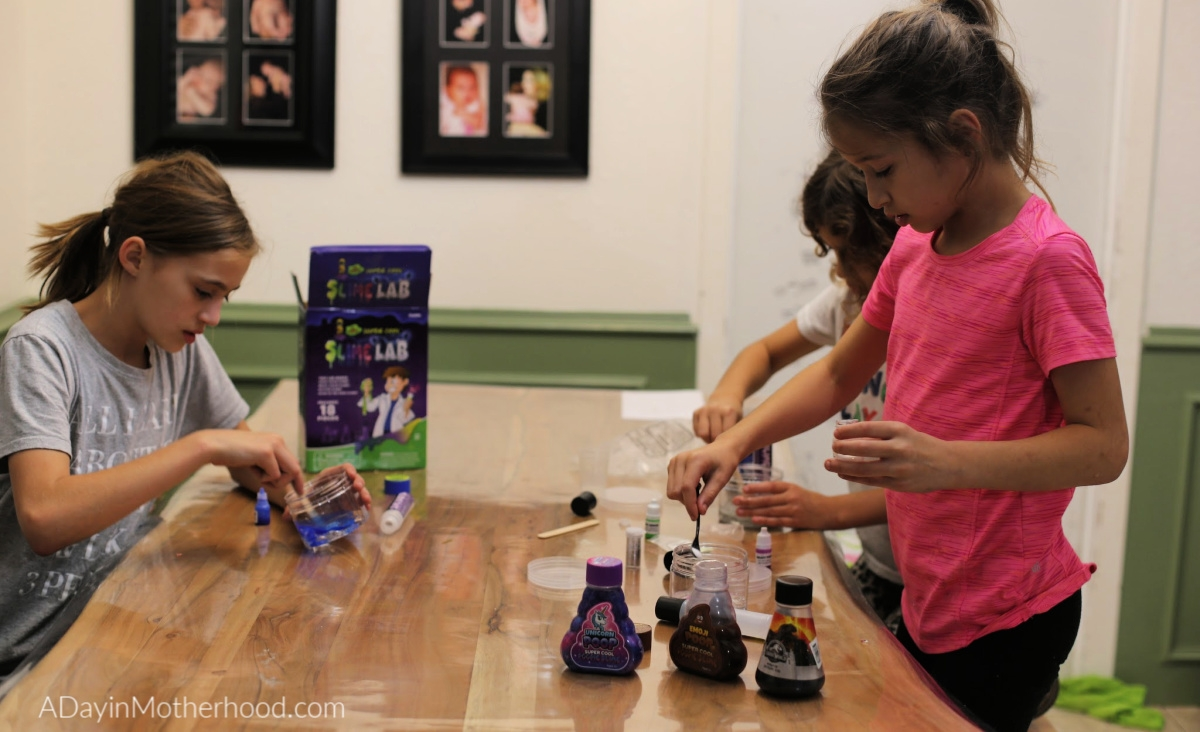 Original Super Cool Slime®is Fun and Colorful for experiments