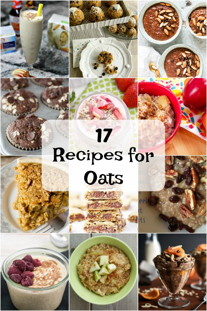 17 Recipes for Oats to Kick off a Healthier You in the New Year.