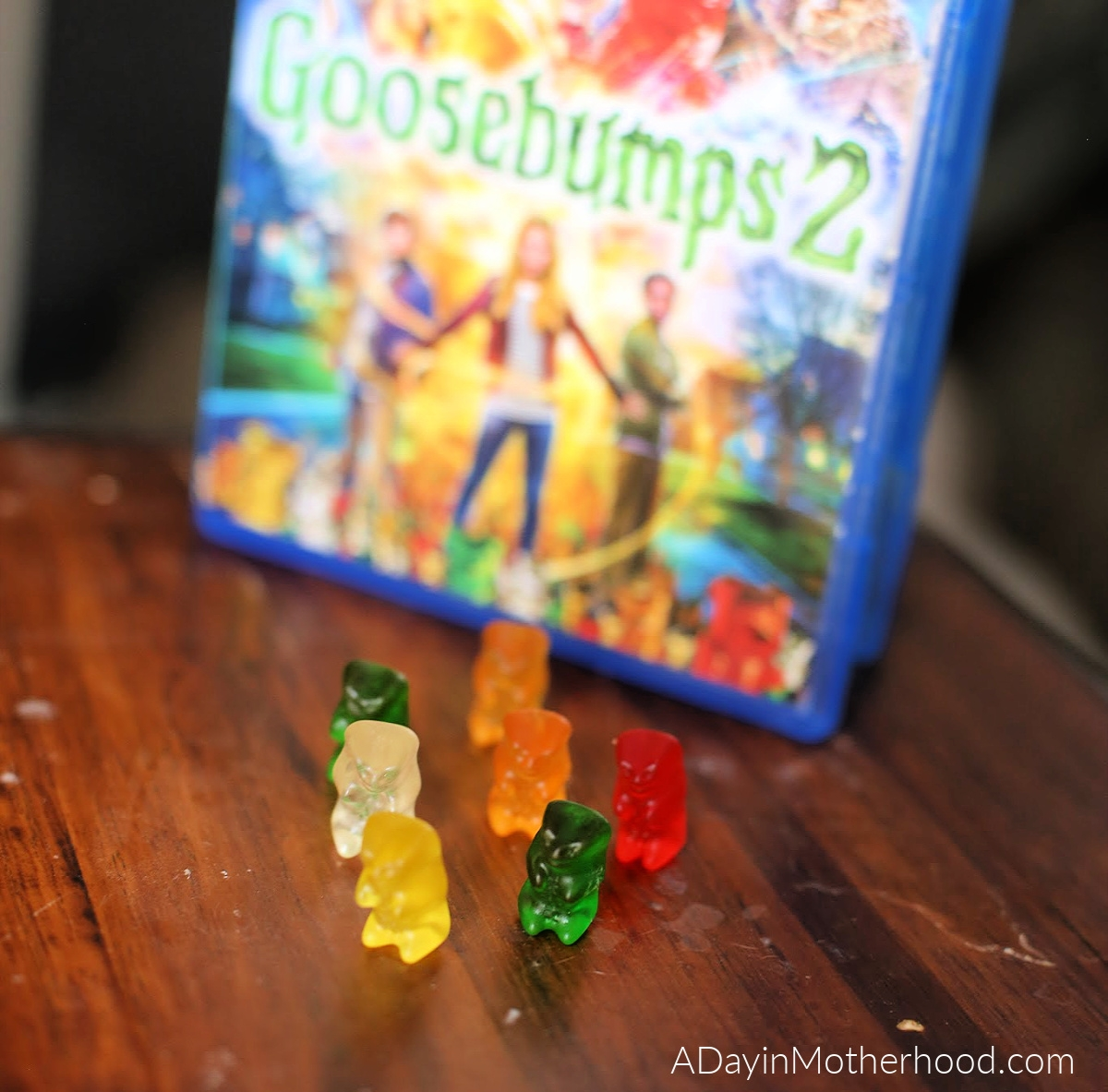 Goosebumps 2 Movie Night: Mini Ghost Cupcakes, Vortex Cookies & a Scavenger Hunt & gummy bears