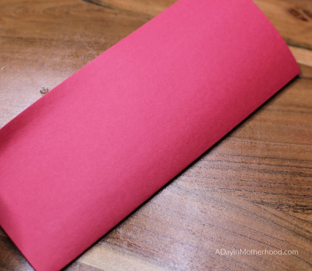 Celebrating Chinese New Year: fold paper