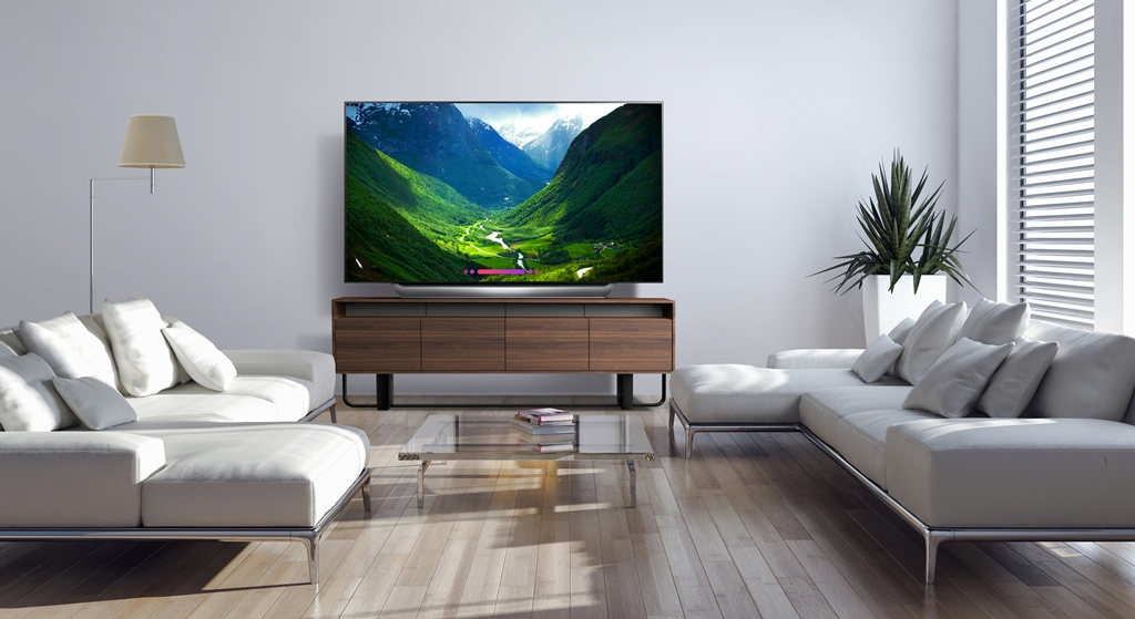 The 77'' Class LG OLED C8 TV Brings the Wow