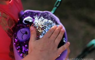 Join the Sequin FUN with Moosh-Moosh Sequin Plushies and slide back and forth