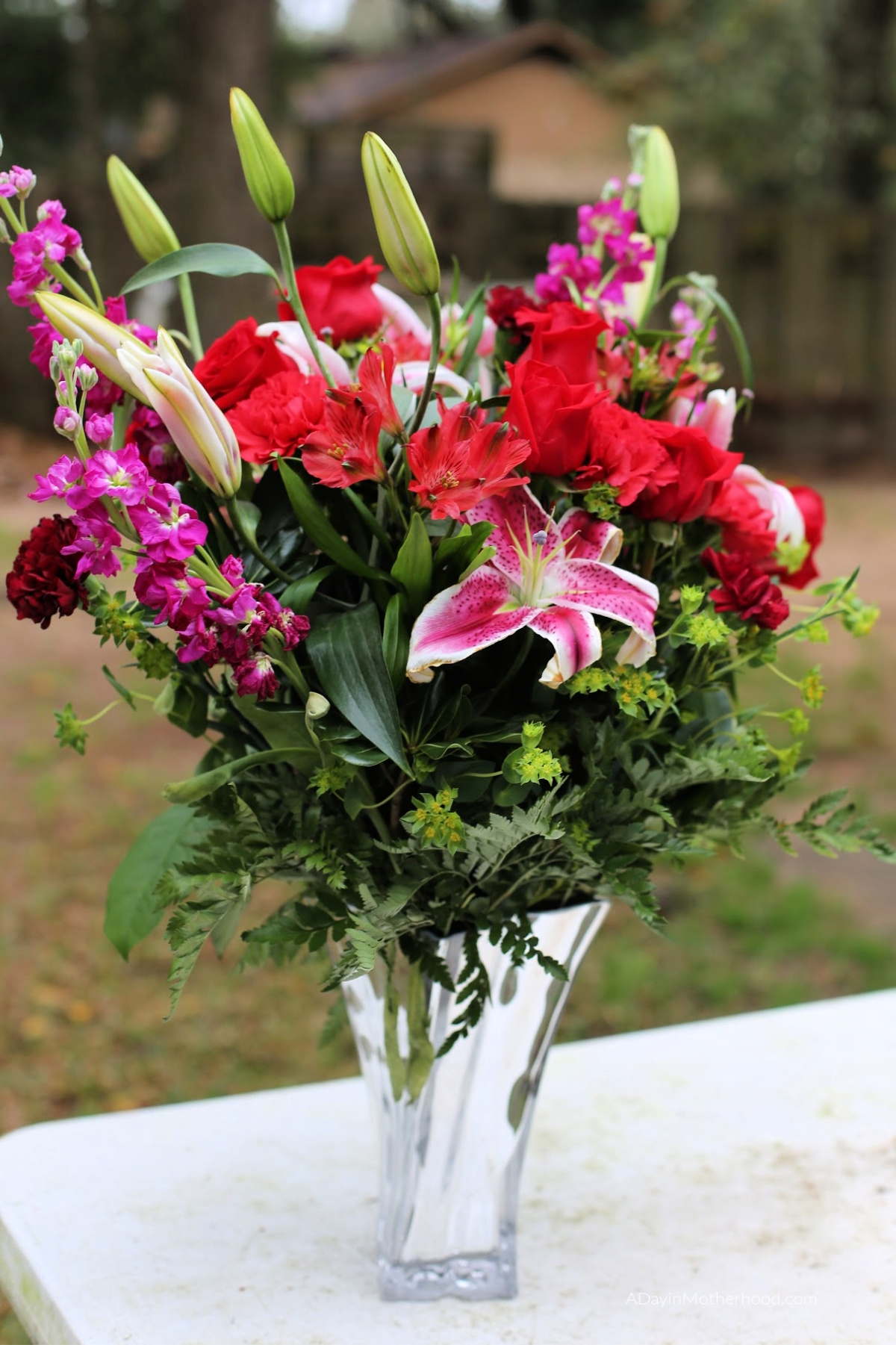 Valentine's Day Blooms with Beauty with Teleflora with this bouquet
