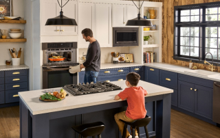The LG Combination Double Wall Oven Will Update Your Style