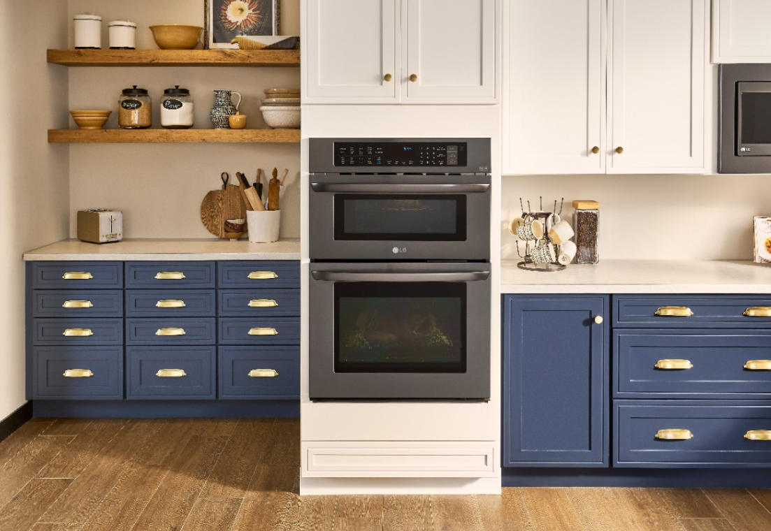 The LG Combination Double Wall Oven Will Update Your Style for your home