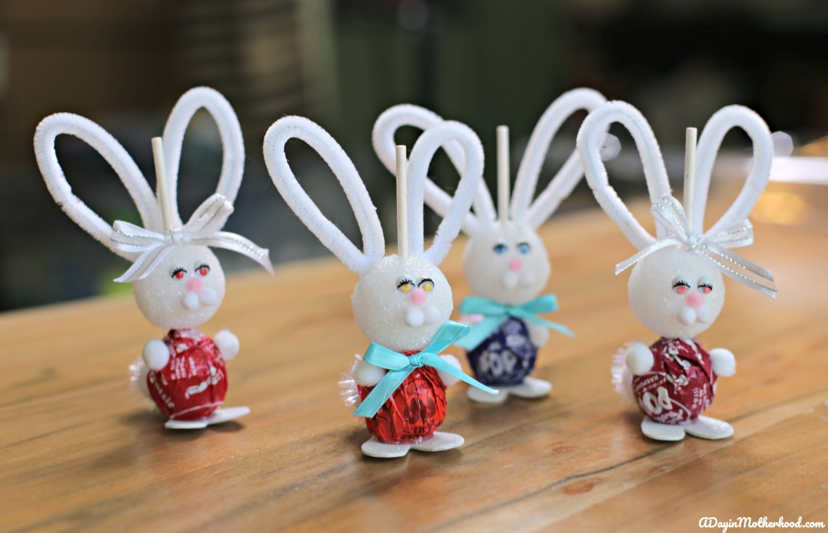 How to Make a Bunny Lollipops