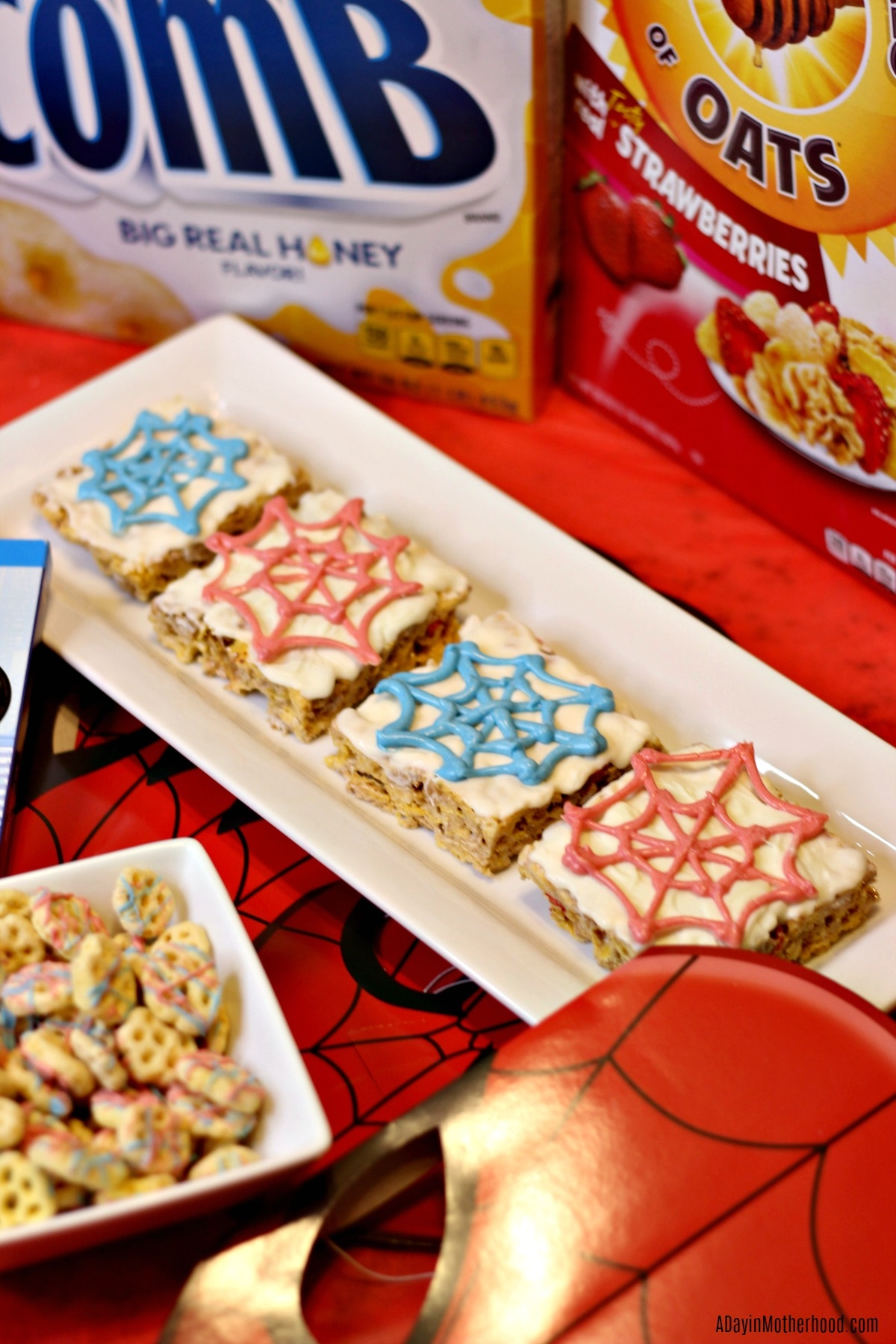 Spider-Man into the Spider-verse + Fun Treats = A Fun Filled Movie Night and spider webs