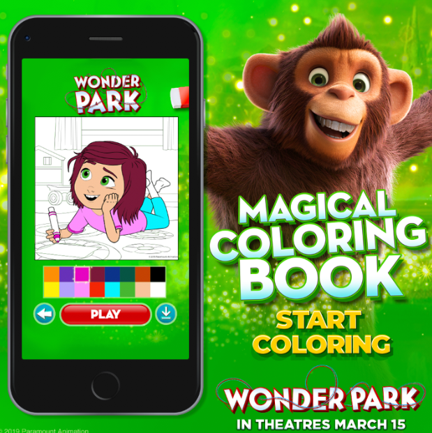 Wonder Park is FINALLY HERE: In Theaters FRIDAY!! + coloring