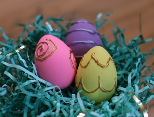 Fun Hand-Painted Easter Eggs