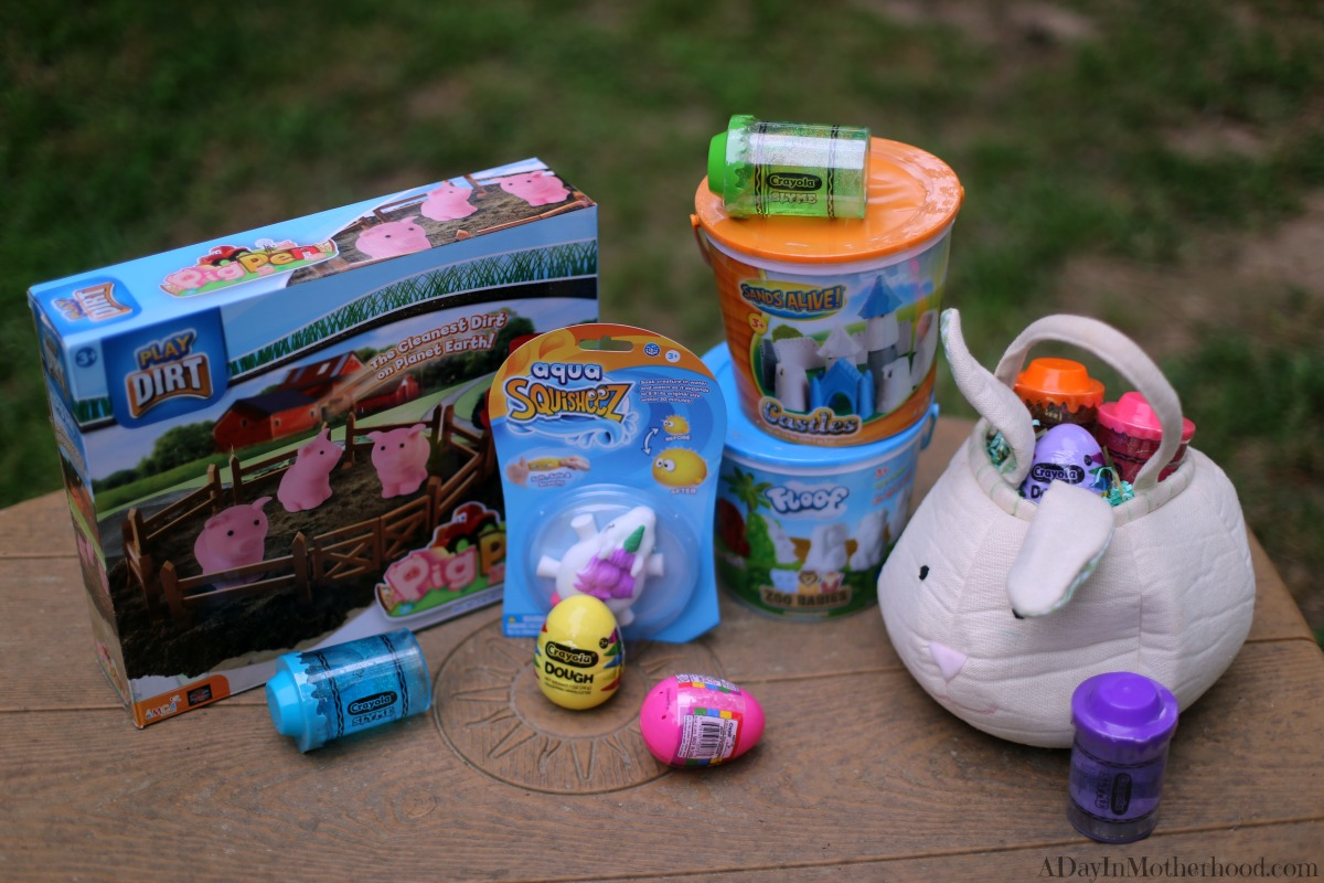 Crayola Makes Stuffing Easter Baskets Full of Fun Slyme