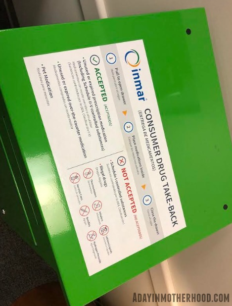 Dispose of Medications Properly to see what they take