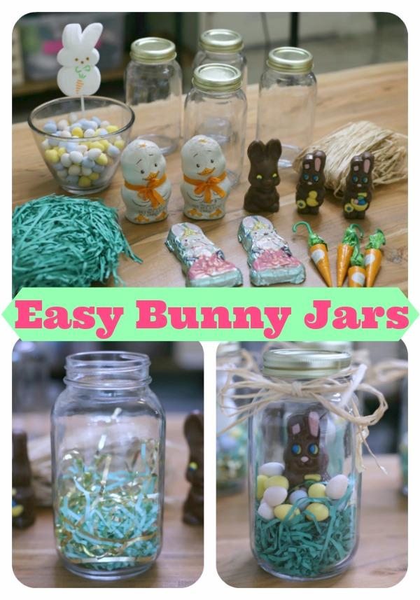 Easy Bunny Jars Pinterest
